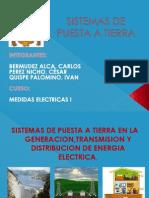 Presentacion de Medidas Electricas I-Sistemas de Puesta a Tierra-2012