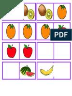 Domino Frutas