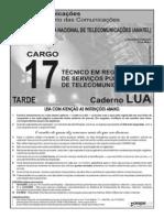 Anatel Cargo 17 Cad Lua