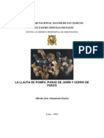 Altamirano (1993) Pumpu de Punas de Junín