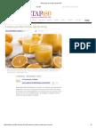 Daño Del Jugo de Naranja _ Bienestar180