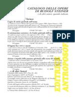 Editrice Antroposofica Catalogo