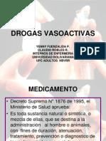 Drogas Vasoactivas, Presentacion Ok