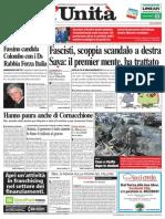 L'Unità, prima pagina 2/2006
