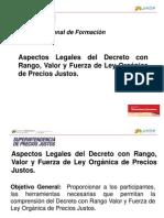 Presentación Ley Orgánica de Precios Justos [Reparado]