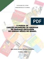 A Poesia de Carlos Drummond de Andrade