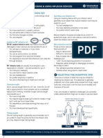 Infusion Devices Consensus Paper 2012