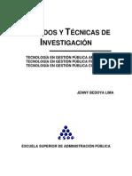 3 Tecnicas y Metodos de Investigacion