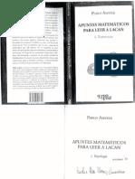 -Pablo-Amster-1 Apuntes Matematicos Para Leer a Lacan. (Topologia)