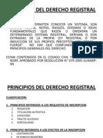 Principios Del Derecho Registral
