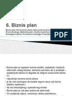 6 Biznis Plan