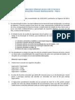 Comunicado Crhsuz 29_orientações Posse Ingressante - Peb II