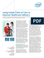 Healthcare Mobile Point of Care Improve Delivery Study