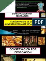 Conservacion Por Desecacion e Irradiacion-silvia