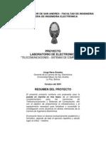 LABORATORIO DE ELECTRONICA
