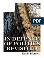 In Defence of Politics Revisited