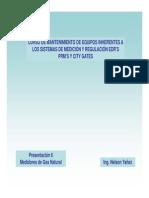 Presentación 6 - Medidores de Gas Natural