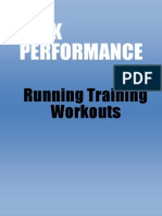 Running Training Workouts