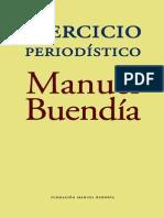 Ejercicio Periodistico (Manuel Buendia)