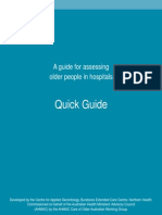 Assessing Older People Quick Guide