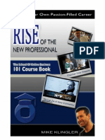 Rise of the New Professional 101 Course Book
