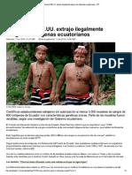 Petrolera de EE.uu. Extr...Genas Ecuatorianos – RT