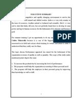 Perfomance Appraisal