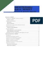 Elettronica Applicata - 20021101 - 06 - MOSFET Analisi Statica e Piccolo Segnale