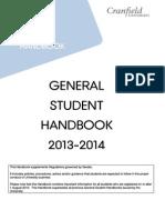 General Student Handbook 2013