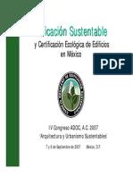 edificacion sustentables