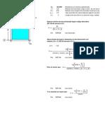 Plantilla Excel Para Determinar Espesor de Losa de Concreto
