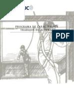 Programa de Capacitacion Trabajos de Alturas