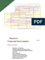 Creep and Stress Rupture