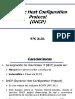 Protocolo de Configuración de Host Dinámico DHCP.ppt