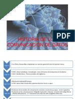 Historia - Comunicacion de Datos