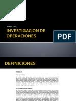 Investigacion de Operaciones Pl