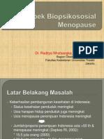 Aspek Biopsikososial Menopause_Kuliah