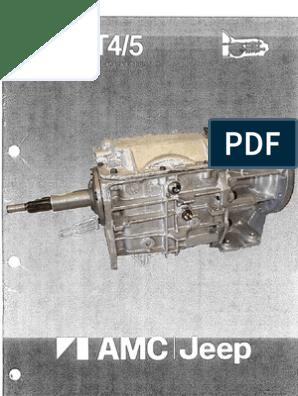 T5 Transmission Rebuild Manual