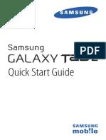 Samsung GalaxyTab2 QSG