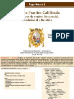 1ra. PC Algoritmica I 2013 - I