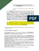 Contrato Mídia Social SOCIAL BRONZE