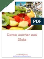 Como Montar Sua Dieta