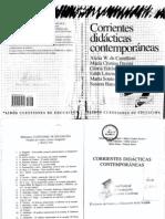 CDCcorrientes Didacticas Contemporaneas Indice y Prologo