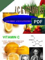 Vitamin C and Pantothenic  Acid