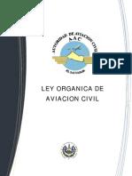 Ley Organica de Aviacion Civil de El Salvador
