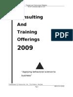 VA Catalogue 2009
