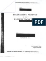 ENGINEERING ANALYSIS OF THE RUSSIAN T34/85 TANK