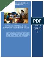 2 Curso II IDIPPI Metodos y Estrategias Para Formacion de Grupos
