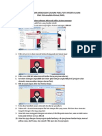 Cara Mengubah Pixel Photo Dan Warna Latar Peserta Ujian