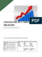 IPC y Tasa de Inflacion
